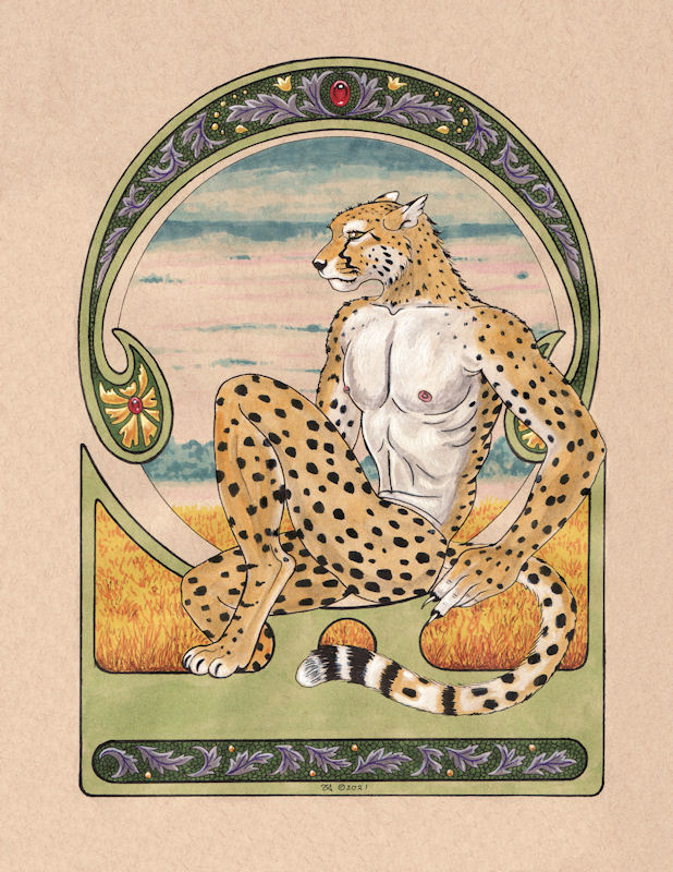 Mucha Cheetah