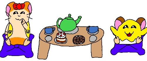A Tea Party For Two