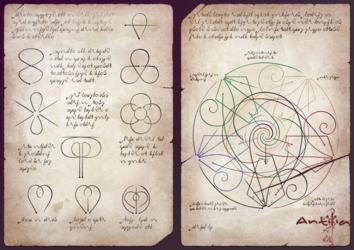 Antilia Concept--Ancient Manuscript