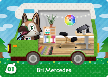 [AC Welcome amiibo] Bri Mercedes
