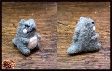 needle felted mini pokemon substitute