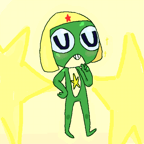 alien frog officer