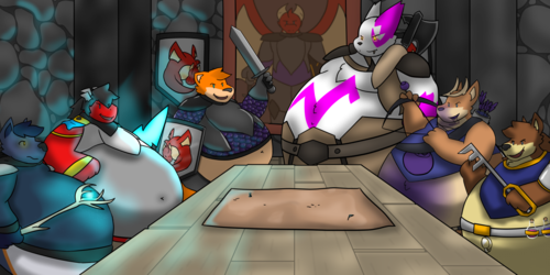 Knights of the 'Round' Table