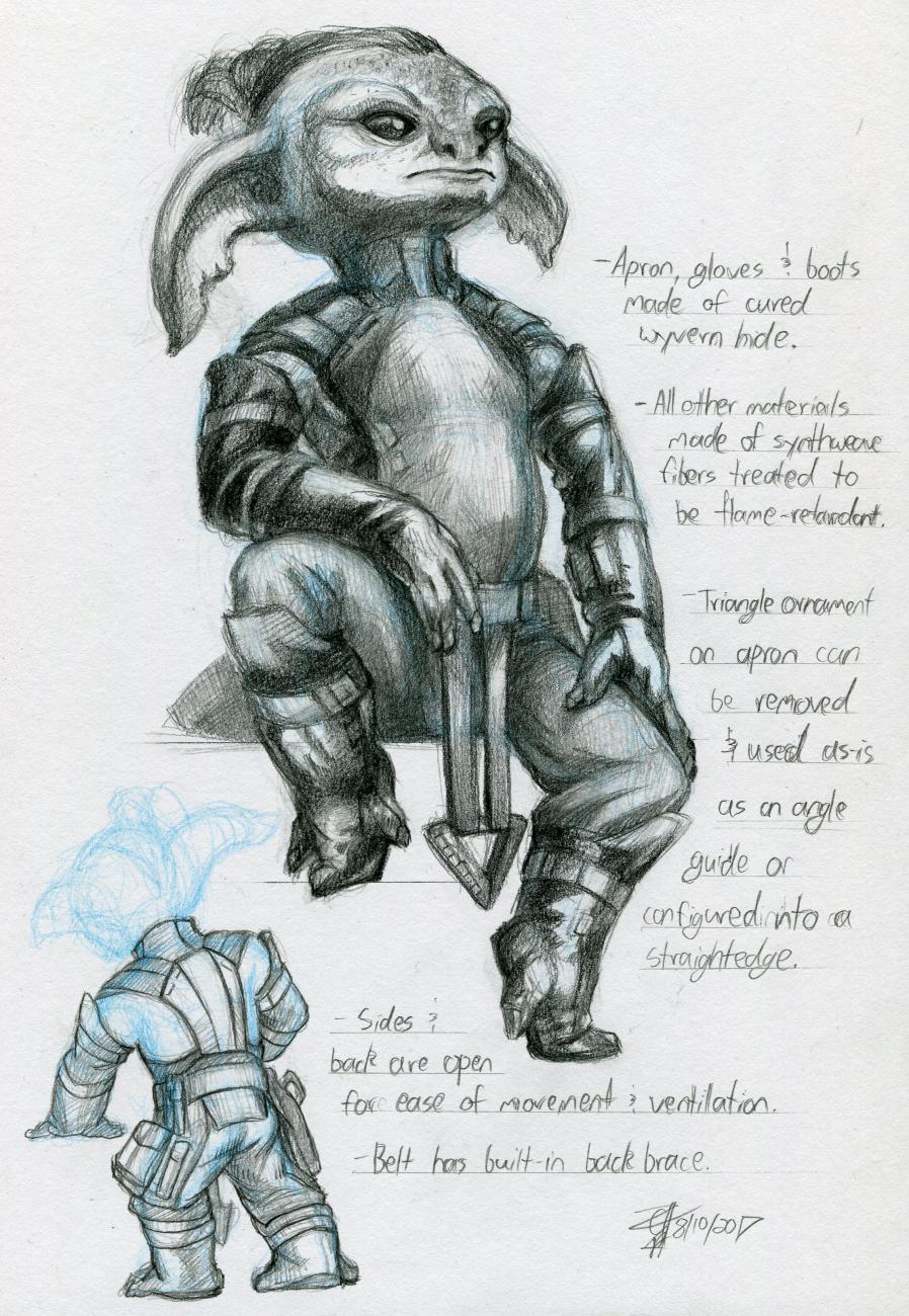 Oort blacksmithing gear design