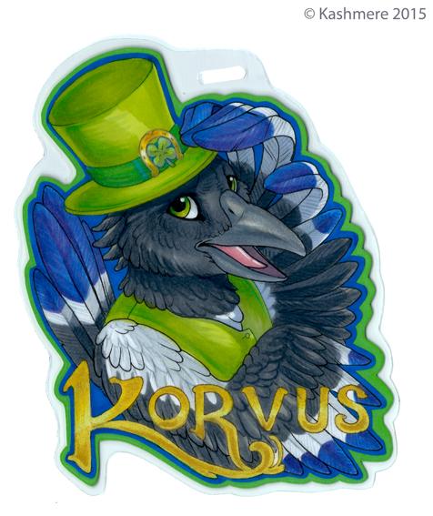 Korvus Badge