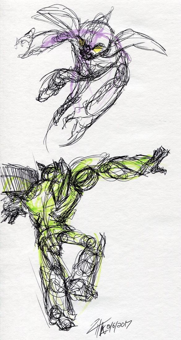 Gesture exercises