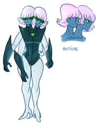 Antiope the two-headed alien