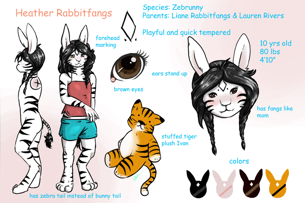 Heather Rabbitfangs - Rivers (Character Sheet)