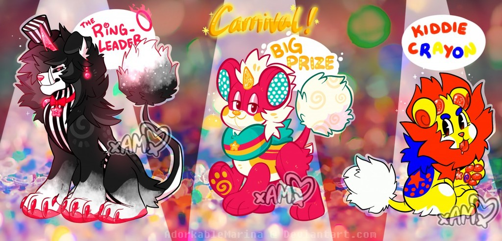 SpecialEvent! DandyLyon CARNIVAL Auction [CLOSED]