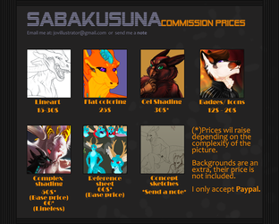 -2014 Commission Prices-