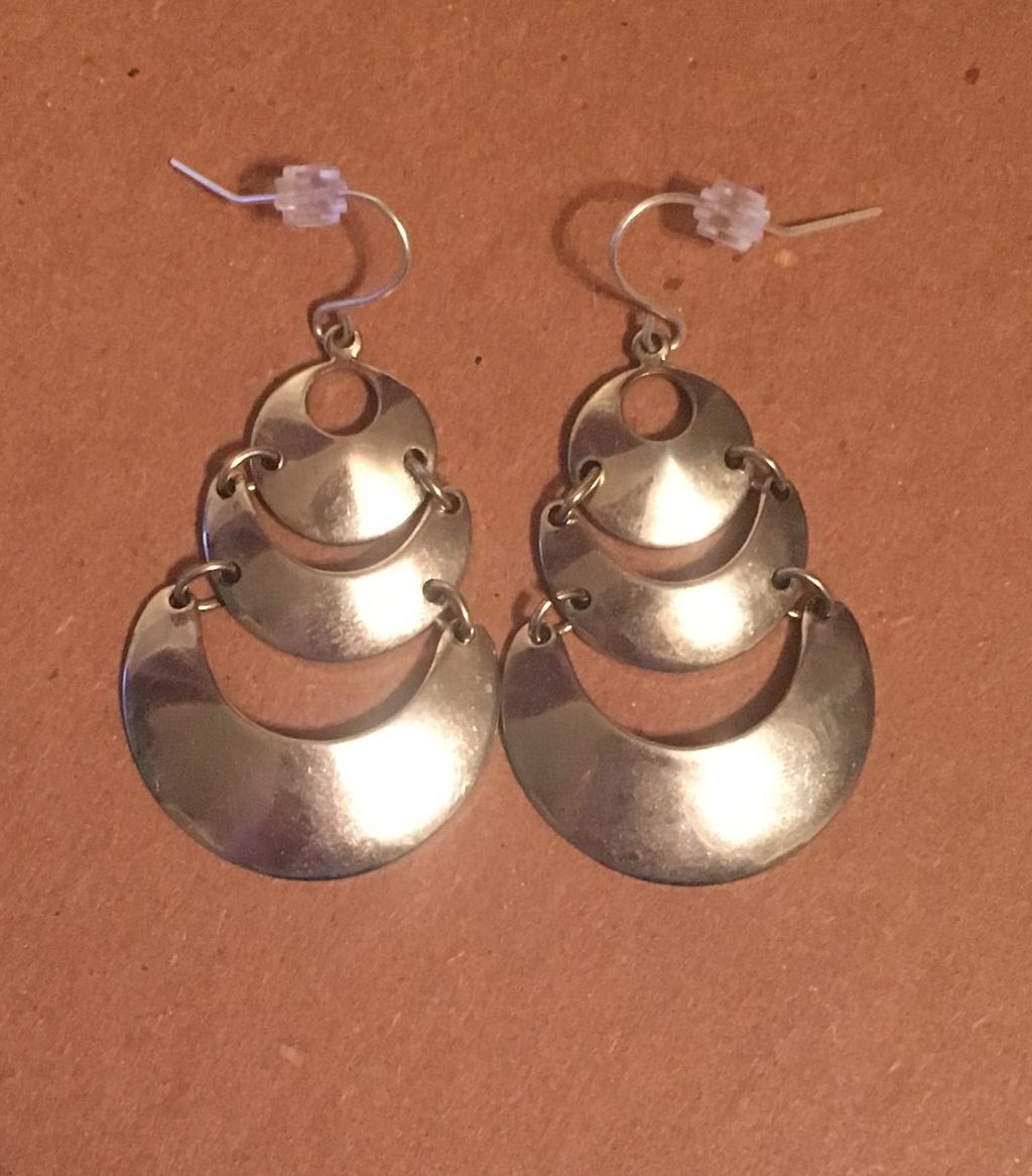 Odd Metal Earrings