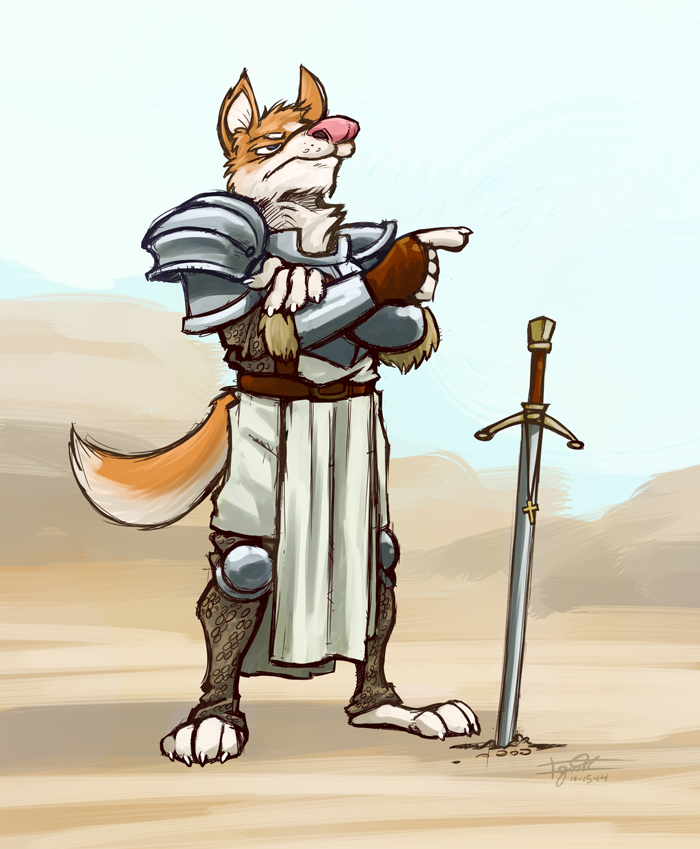 Crusader Dog