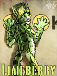 Retro Space Con Badge - Limeberry aka Meat Popsicle