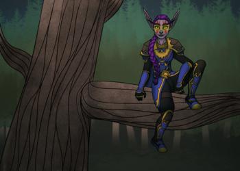 [c] Druid in the Trees