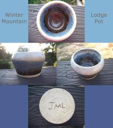 Winter Mountain Lodge Pot