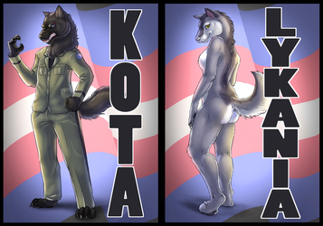 Badge Commissions - Kota and Lykania