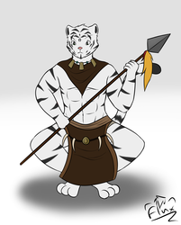 White Tiger Warrior Concept