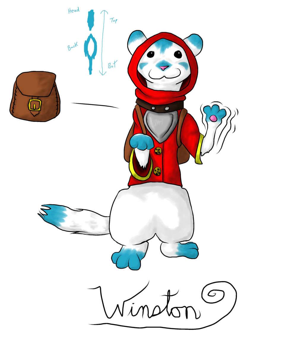 Most recent image: Celestial Weasel Familiar - Winston