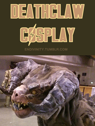 Fallout 4 Deathclaw Cosplay MkII