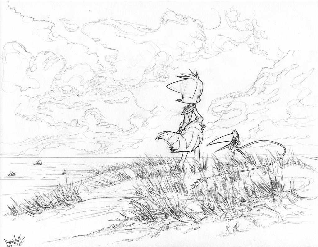 Plush Drawing Mace Horizon
