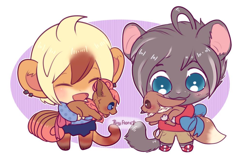 Pokemon Cuddles!