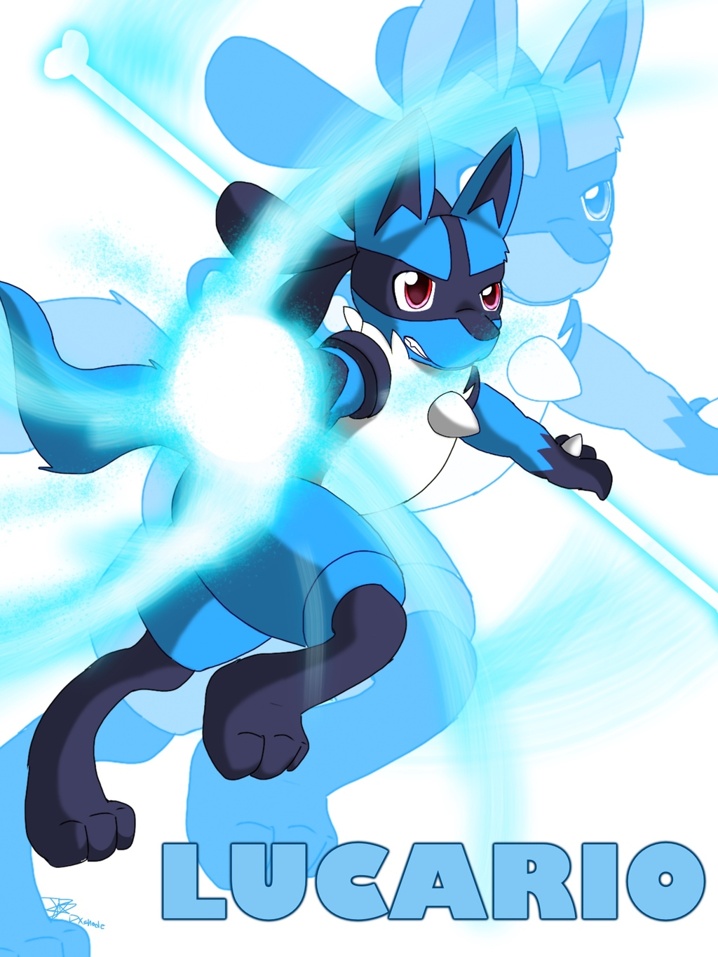 Most recent image: Lucario