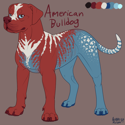 *BUY ME!* MURRICA American Bulldog $7CAD
