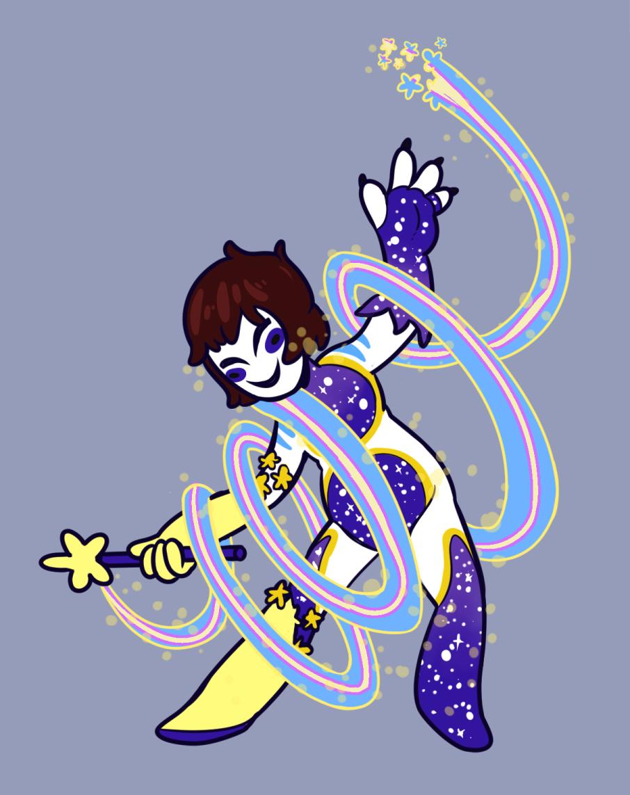 Commission: Magical Star Goddess