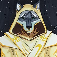 Kane Jedi Temple Guard - ArgentFang Commission