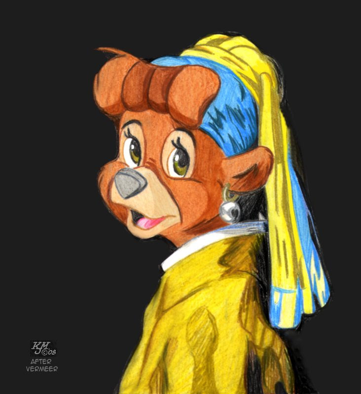 The Bear With The Pearl Earring