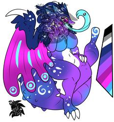 Female Cosmic Pukei pukei +Design+ (SOLD)