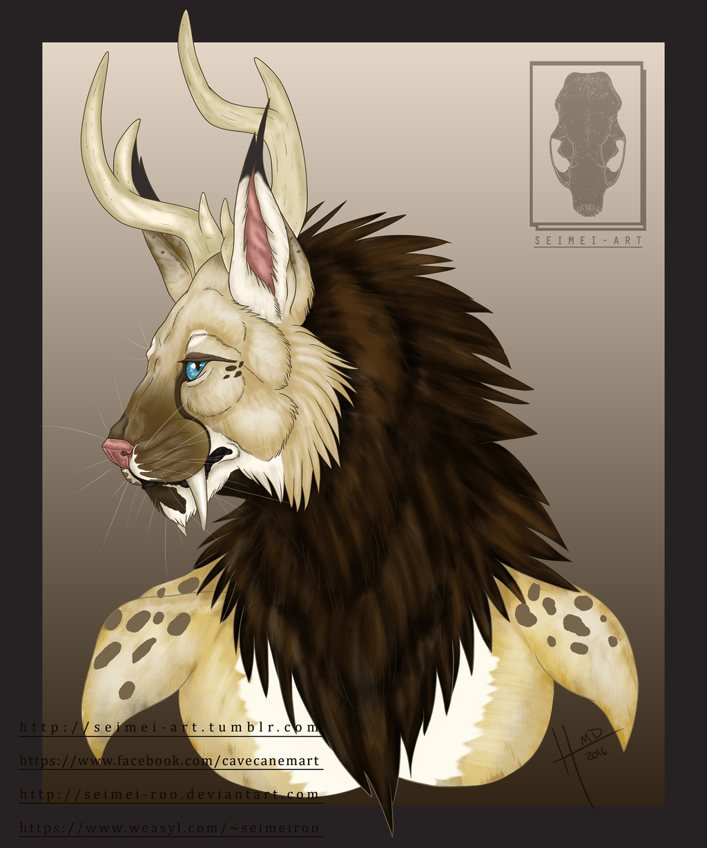 Rheego||Bust Commission Example