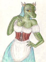 Argonian Maid