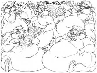 caligari sketchpage commission (wg/stuffing)
