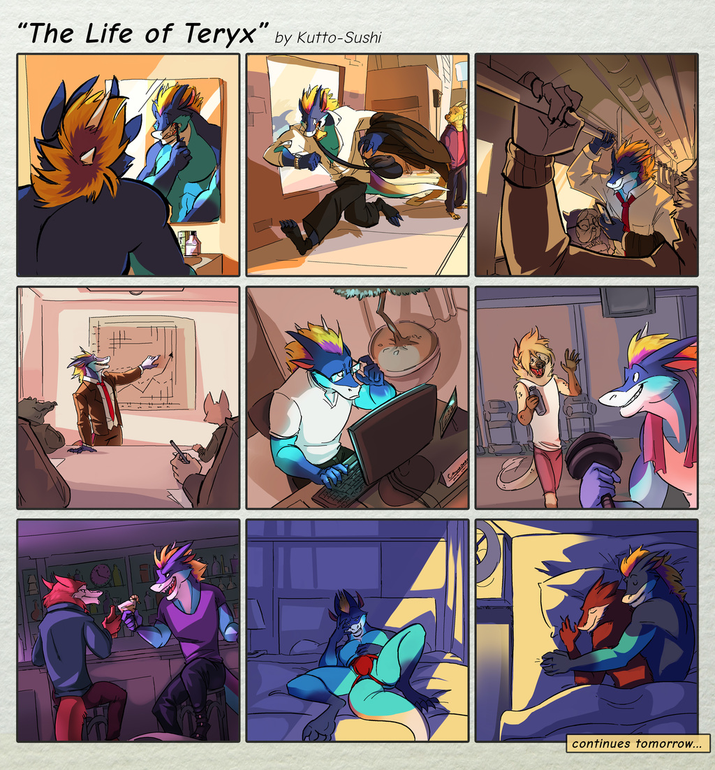 [Chevykinz, Kinniro] The Life of Teryx