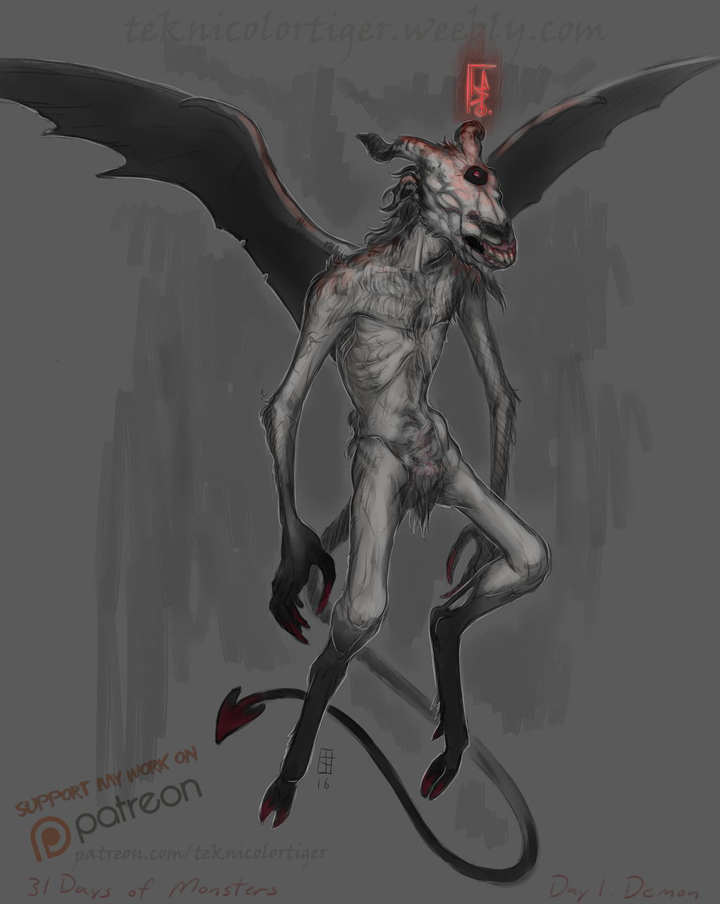 31 Days of Monsters: Ualac the Demon