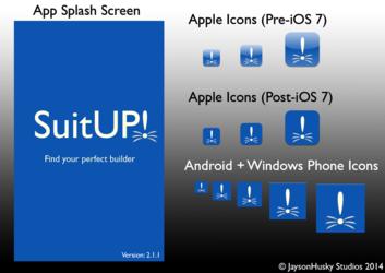 SuitUP - App Assets