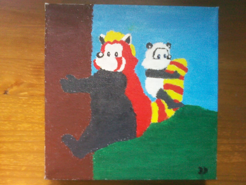 Featured image: Panda Painting