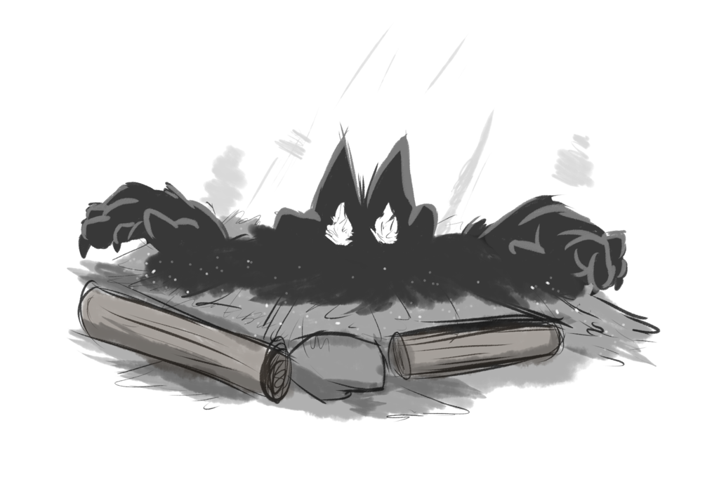 Inktober #13 - Ash