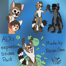 ALX Expansion Sticker Pack