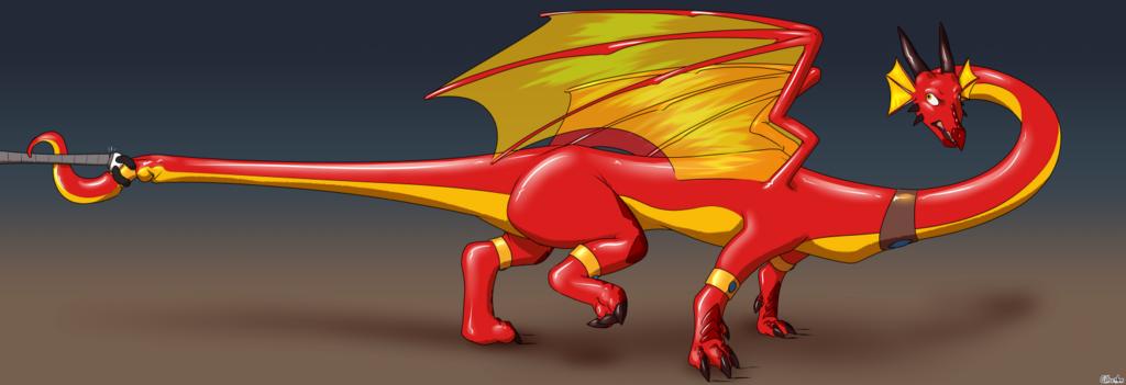 Avarisa the Inflatable Dragon #9