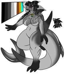 Female vaquita dolphin +Design+ (SOLD)