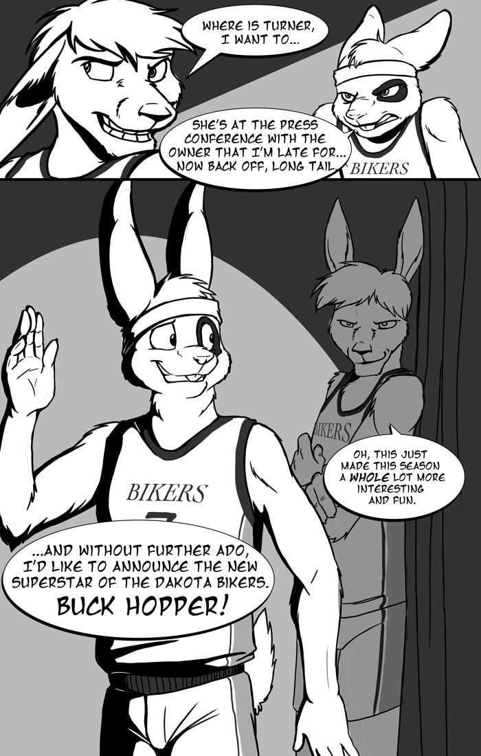 The Dakota Bikers Webcomic (Issue #1, Page #3)