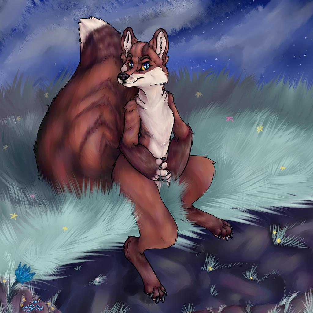 Glash fox, commission!