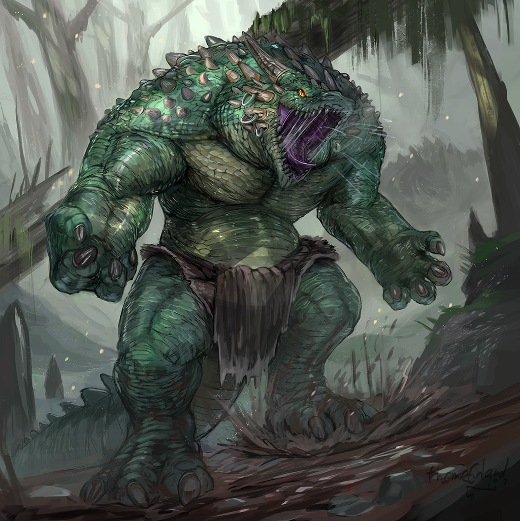 Dragonoid beast
