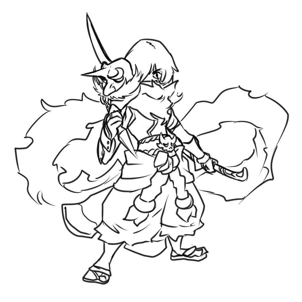 Mugen, the ninja boy.