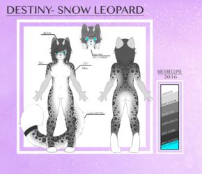 Destiny (V2.5) Reference Sheet