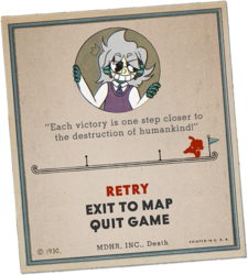 Cuphead card commission