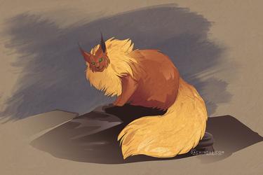 Grumpy Flareon