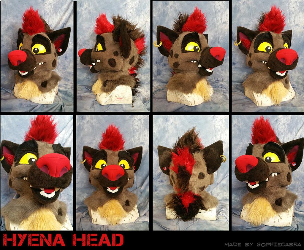 Hyena Head